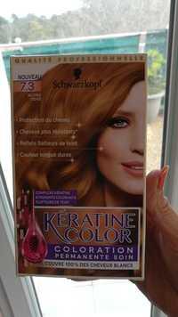 Schwarzkopf - Kératine color - Coloration permanente soin 7.3 blond doré