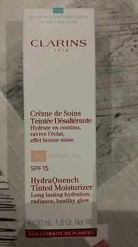 CLARINS - Crème de soins teintée désaltérante SPF 15