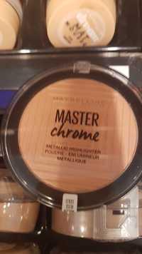 Maybelline - Master chrome - Poudre enlumineur métallique rose gold