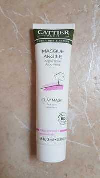 Cattier - Masque Argile rose Aloe vera