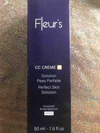 FLEUR'S - CC Crème 02 solution peau parfaite SPF 20