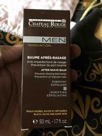 CHÂTEAU ROUGE - Men innovation - Baume après-rasage