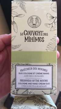 LE COUVENT DES MINIMES - Fraîcheur des minimes - Duo Cologne et crème mains
