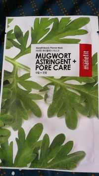 MANEFIT - Mugwort astringent + Pore care - Manefit beauty planner mask