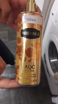 AQC FRAGRANCES - Paris vanilla brume parfumée