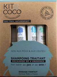 KIT & COCO - Shampooing traitant pour libérer des poux et des lentes