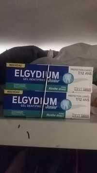 ELGYDIUM - Gel dentifrice junior à la menthe douce
