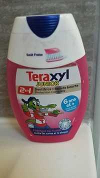 TERAXYL - 2 en 1 Junior - Dentifrice + Bain de bouche