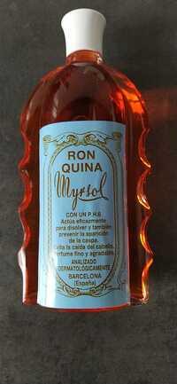 MYRSOL - Ron quina con up P.H.6