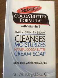 PALMER'S - Cleanses moisturizes - Cream soap