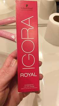 Schwarzkopf - Igora royal - Crème de coloration permanente