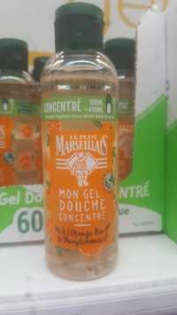 Le petit marseillais - Mon gel douche concentré orange bio et pamplemousse