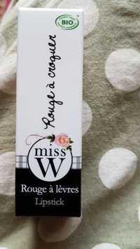 Miss W - Rouge à croquer - Rouge à lèvres bio