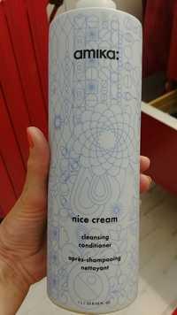 AMIKA - Nice cream - Après-shampooing nettoyant