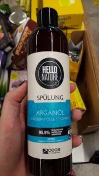 HELLO NATURE - Arganöl - Spülung