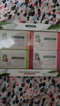 KLORANE - Coffret savons crème au beurre de Cupuaçu bio