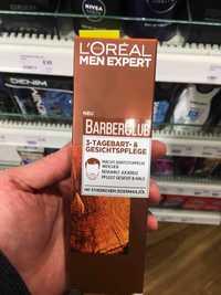 L'Oréal Paris - Men expert barberclub - 3-Tagebart- & gesichtspflege