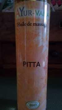 AYUR-VANA - Pitta - Huile de massage
