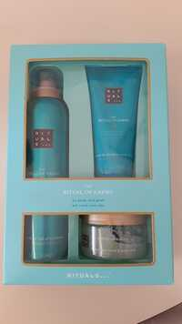 Rituals - The ritual of Karma - Shower foam, body scrub, body cream