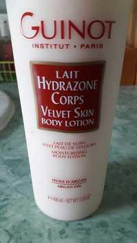 Guinot - Lait hydrazone corps effet peau de velours
