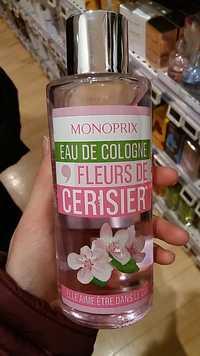 MONOPRIX - Fleurs de Cerisier - Eau de cologne