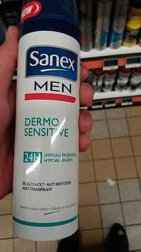 SANEX - Dermo sensitive men - Déodorant anti-transpirant 24h
