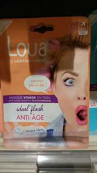 Laurence Dumont - Loua Masque visage en tissu idéal'flash Anti-âge