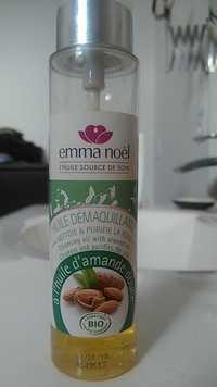 EMMA NOËL - Huile démaquillante à l'huile d'amande douce