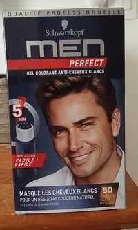 SCHWARZKOPF - Men perfect - Gel Colorant anti-cheveux blancs