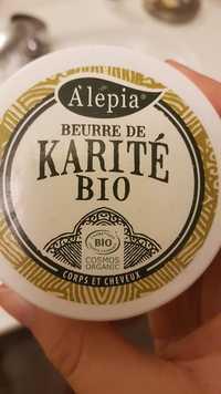 Alepia - Beurre de Karité bio - Corps et cheveux