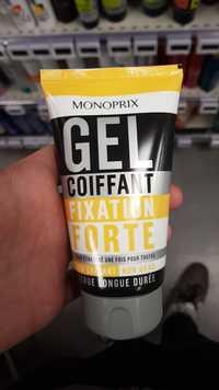 MONOPRIX - Gel coiffant fixation forte