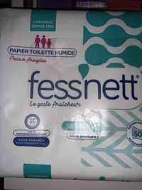 Fess'Nett - Sensitive - Papier toilette humide peaux fragiles
