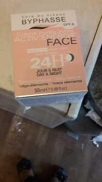 BYPHASSE - Activ'energie - Crème hydra-infini visage SPF 8 24h