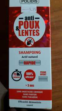 Polidis - Shampoing Anti-poux & lentes