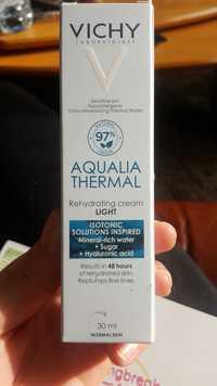 VICHY - Aqualia thermal - Rehydrating cream light