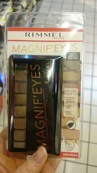 RIMMEL - Magnif'eyes - Palette d'ombres à paupières 001