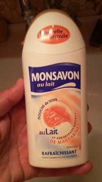Monsavon - Douche de soin au lait et aux extraits naturels de mandarine