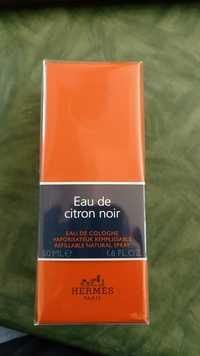 Composition Hermes Eau De Citron Noir Eau De Cologne Ufc Que Choisir