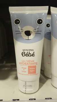 MONOPRIX - Bébé - La crème hydratante visage et corps