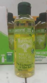 Le petit marseillais - Mon gel douche concentré verveine & citron bio