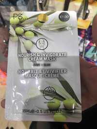 Primark - Nourrit et vivifier - Masque-crème