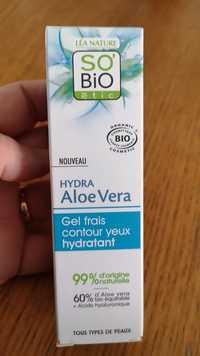 SO'BIO ÉTIC - Hydra Aloe Vera - Gel frais contour yeux hydratant