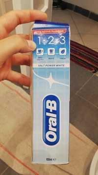 ORAL-B - Salt power white - Toothpaste