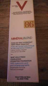 VICHY - Minéralblend -  Fond de teint hydratant 06 ocher