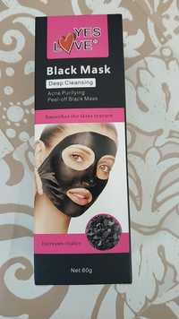 Yes Love - Black mask - Deep cleansing