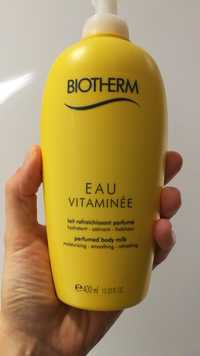 Biotherm - Eau vitaminée - Lait rafraîchissant parfumé