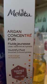 Melvita - Argan concentré pur - Fluide jeunesse