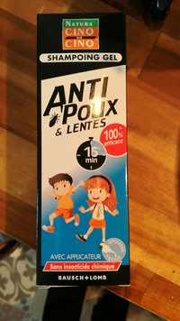 Natura cinq sur cinq - Shampooing gel - Anti-poux & lentes