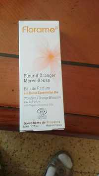 FLORAME - Fleur d'Oranger merveilleuse - Eau de parfum