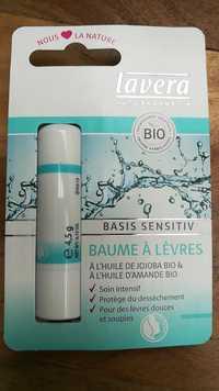 Lavera - Basis sensitiv - Baume à lèvres bio